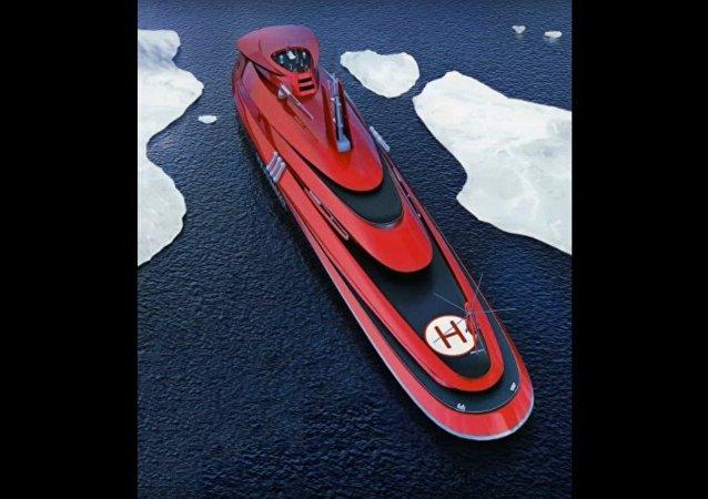 Le navire nucléaire Lider ouvrira la Route maritime du Nord même en hiver