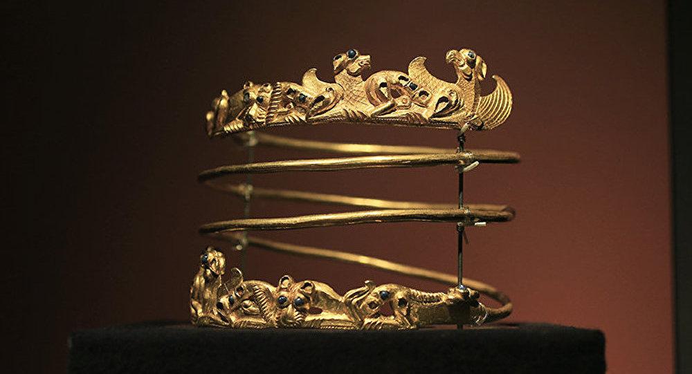 Une partie de la collection de l'or des Scythes reste aux Pays-Bas