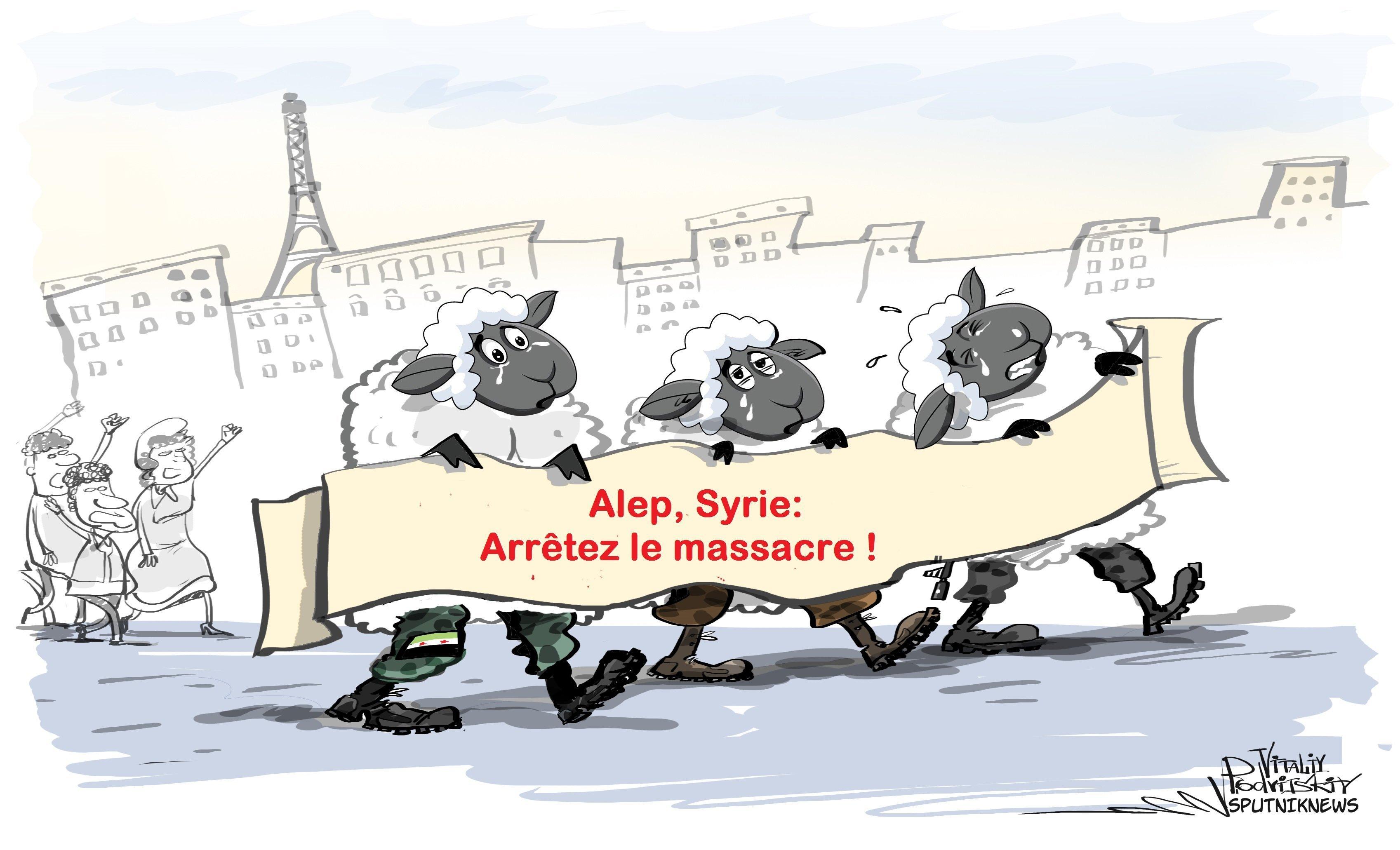 Manif pour Alep, qui est qui ?