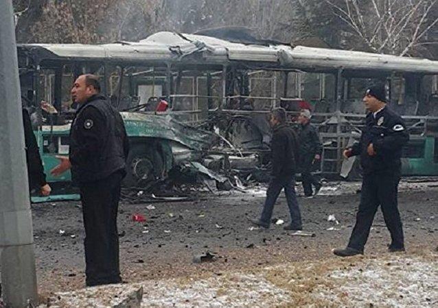 Turquie: explosion d'un bus à Kayseri, plusieurs morts et blessés