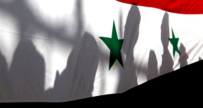 Le drapeau national syrien