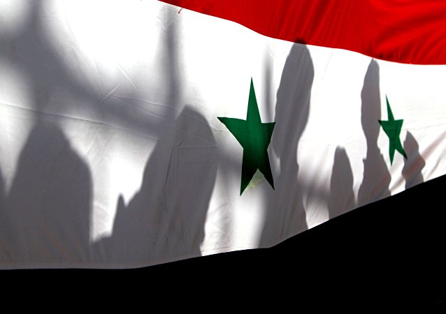 Le drapeau national syrien