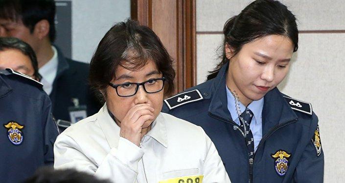 La «Raspoutine» sud-coréenne, Choi Soon-Sil