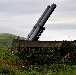 Un système de missiles sol-mer Bastion