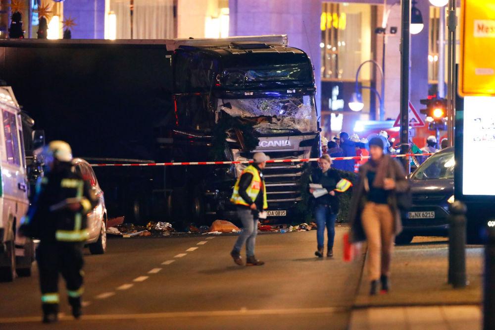 Attaque au camion à Berlin