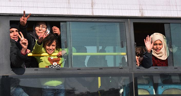 Evacuation d'Alep-Est