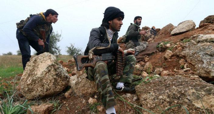 Terroristes du Front al-Nosra. Image d'illustration