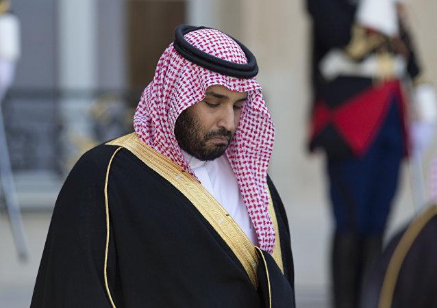 Le vice-prince héritier Mohammed ben Salmane
