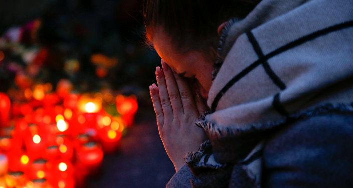 Des bougies après l'attentat de Berlin