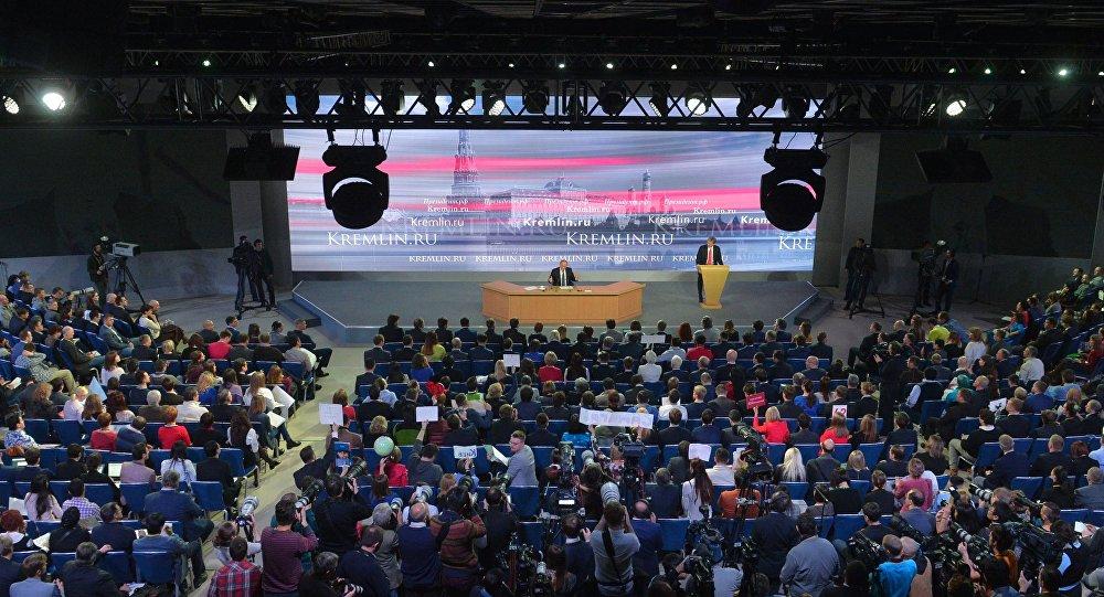 La grande conférence de presse de Vladimir Poutine