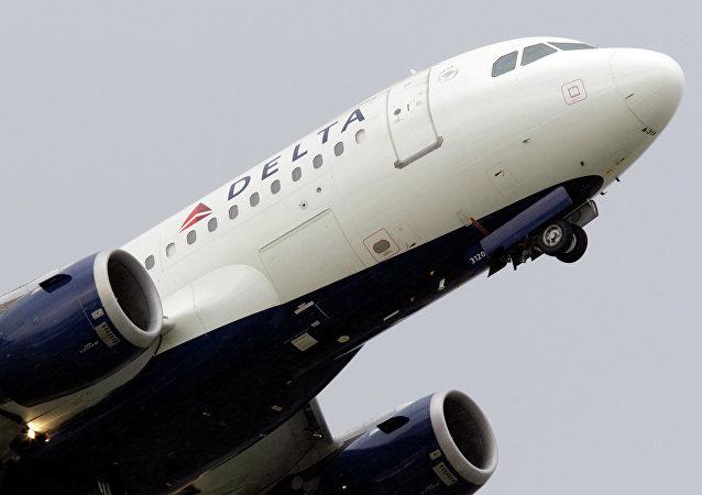 Avion de la compagnie aérienne Delta