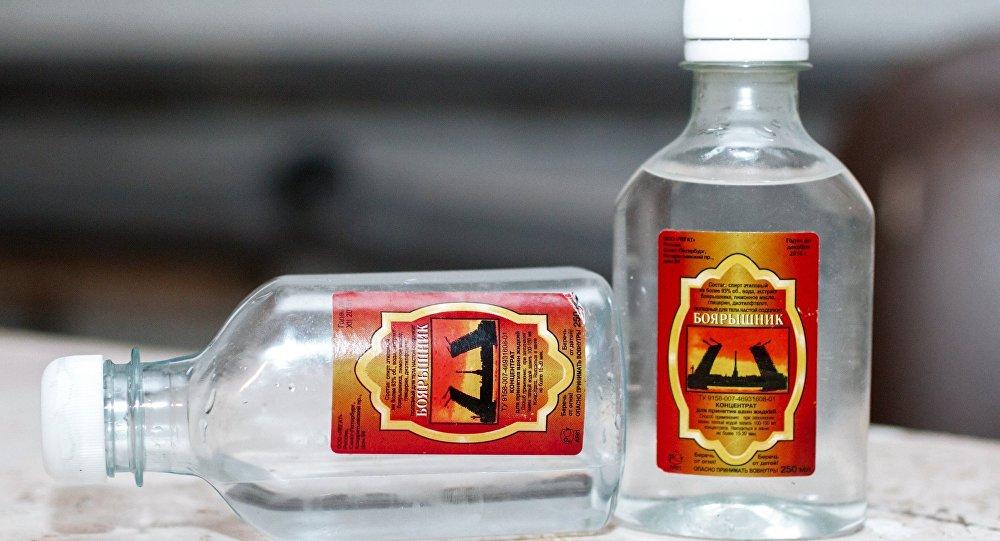 empoisonnement à l'alcool frelaté à Irkoutsk