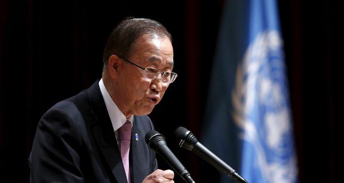 Ban Ki-moon: pas de sécurisation de la Corée du Sud sans les USA et la Russie