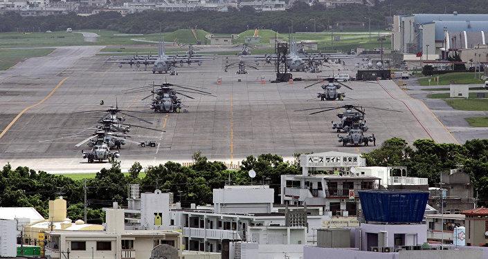 Base militaire US à Ginowan