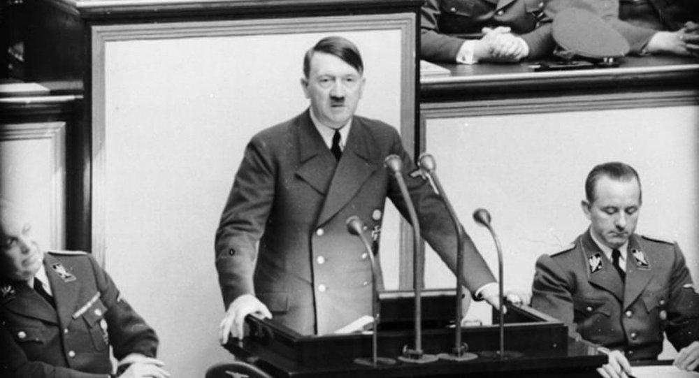 Discours d'Adolf Hitler au Reichstag, en avril 1941