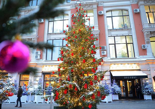 Les marchés de Noël à Moscou parmi les meilleurs au monde, selon The Telegraph