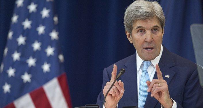 John Kerry, secrétaire d'Etat américain