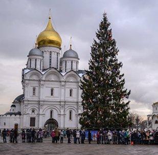 Noël au Kremlin de Moscou
