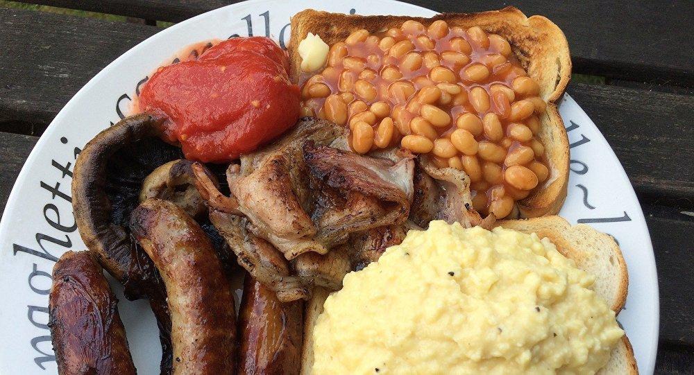 Le petit déjeuner anglais