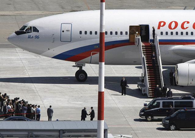 Un avion présidentiel pour rapatrier les diplomates russes des USA