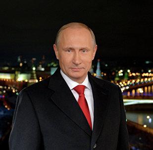 Новогоднее обращение президента РФ В.Путина