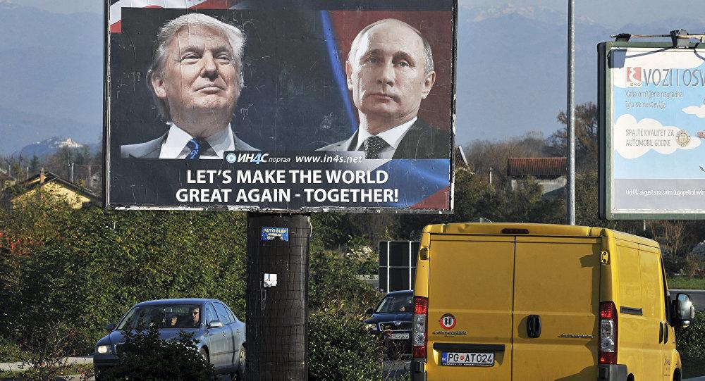 Trump confirme sa volonté de s'entendre avec Moscou