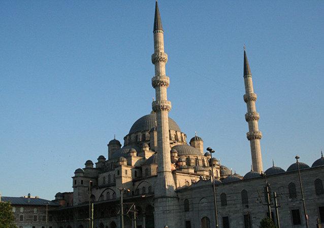 Une mosquée d'Istanbul