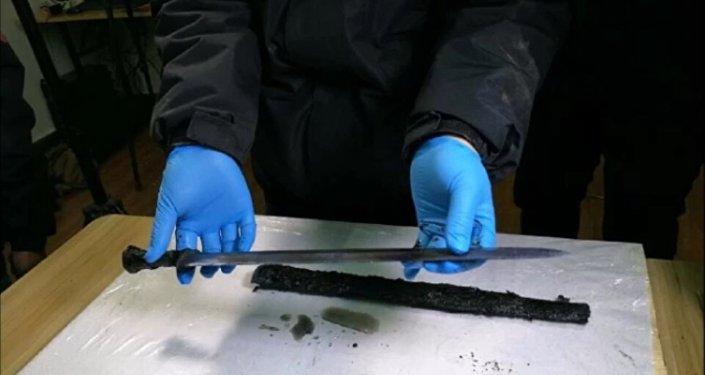 Une épée vieille de 2.300 ans découverte en Chine