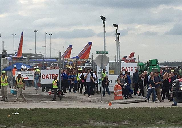 fusillade dans un aéroport en Floride