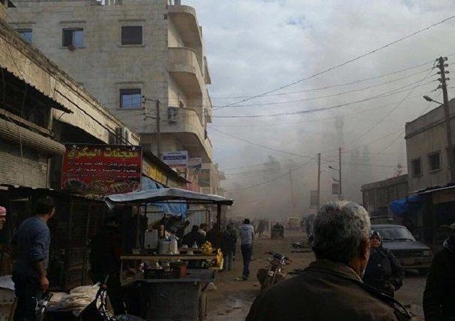 Explosion d'une voiture piégée à Azaz