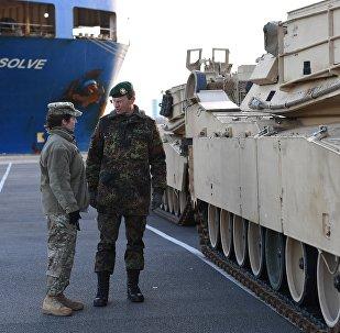Les chars US en Europe font peur aux Allemands