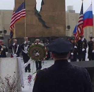 L'hymne russe chanté par des Américains en honneur des victimes du Tu-154