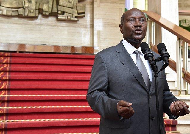 Ex-premier ministre ivoirien Daniel Kablan Duncan