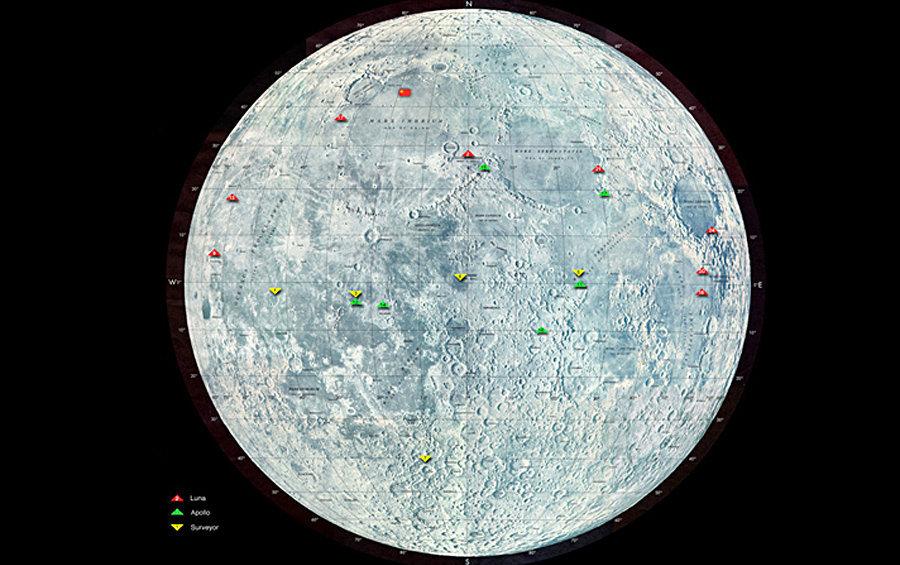 Les cibles de la mission lunaire de Vitaliï Egorov