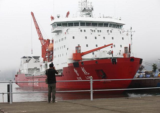 Le brise-glace Xuelong