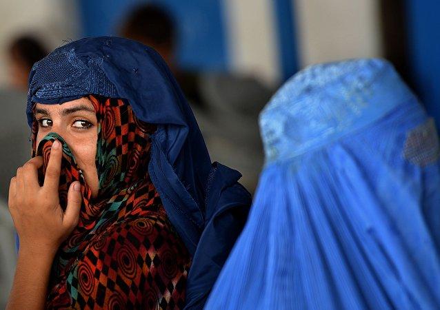 Femmes en burqas