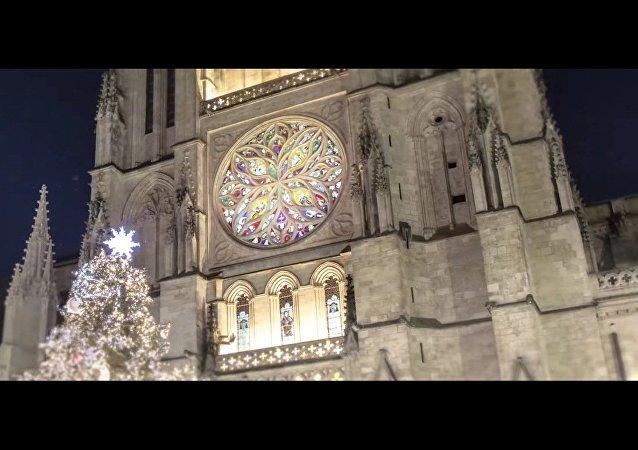 Les lumières féeriques de Bordeaux
