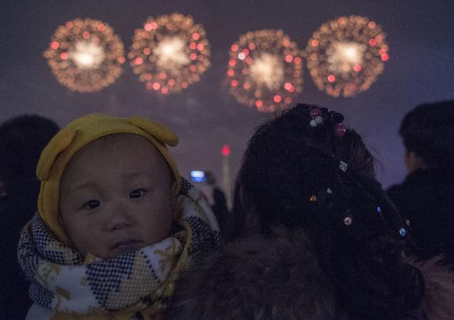 Nouvel An à Pyongyang