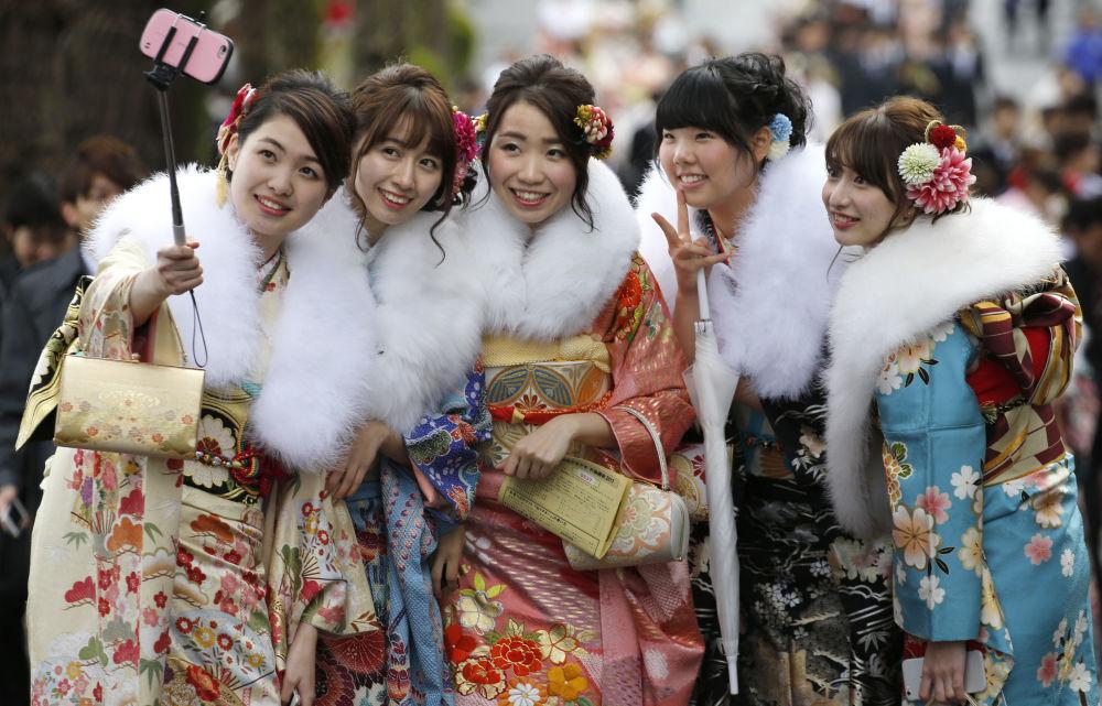 Tokyo a fêté la Journée de la majorité. Selon la tradition, cette journée est célébrée le premier lundi de janvier