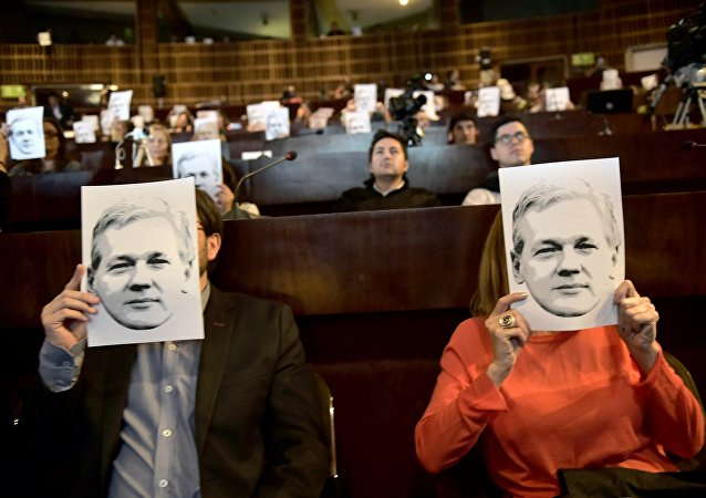 Des portraits de Julian Assange