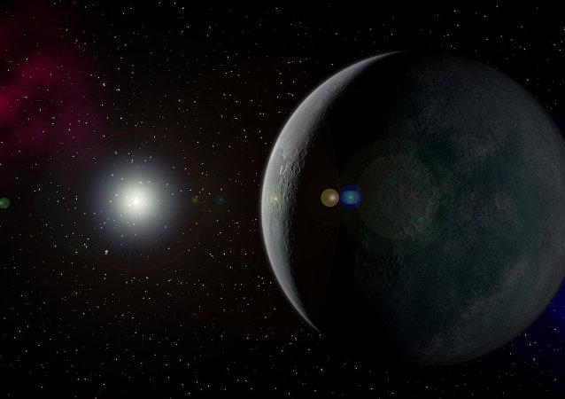 La mystérieuse planète X qualifiée de migrant de l'espace interstellaire