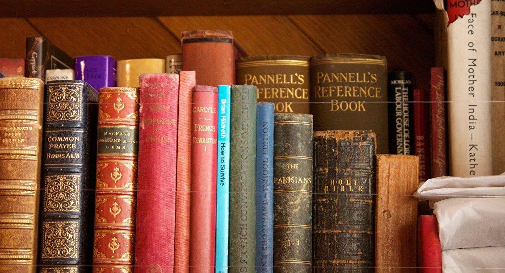 Un Americain Retourne Un Livre De Bibliotheque Emprunte Il Y