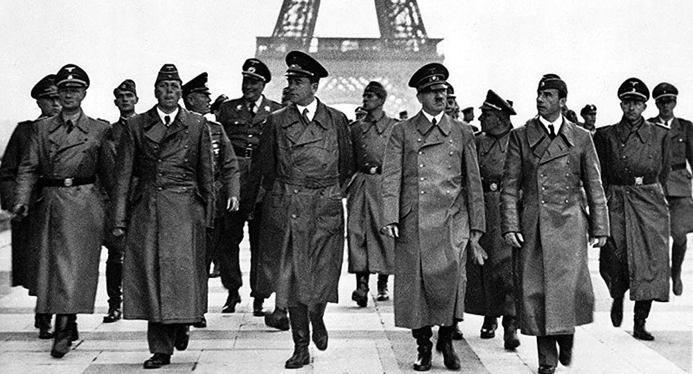 Hitler à Paris