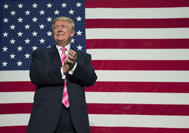 Le président élu américain Donald Trump