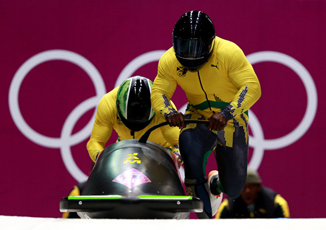 L'équipe jamaïcaine de bobsleigh