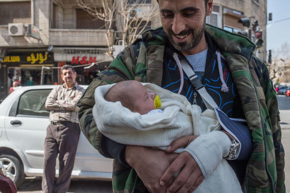 Le premier jour de la réconciliation à Damas, le 27 février 2016