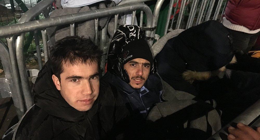 Migrants à la Porte de la Chapelle