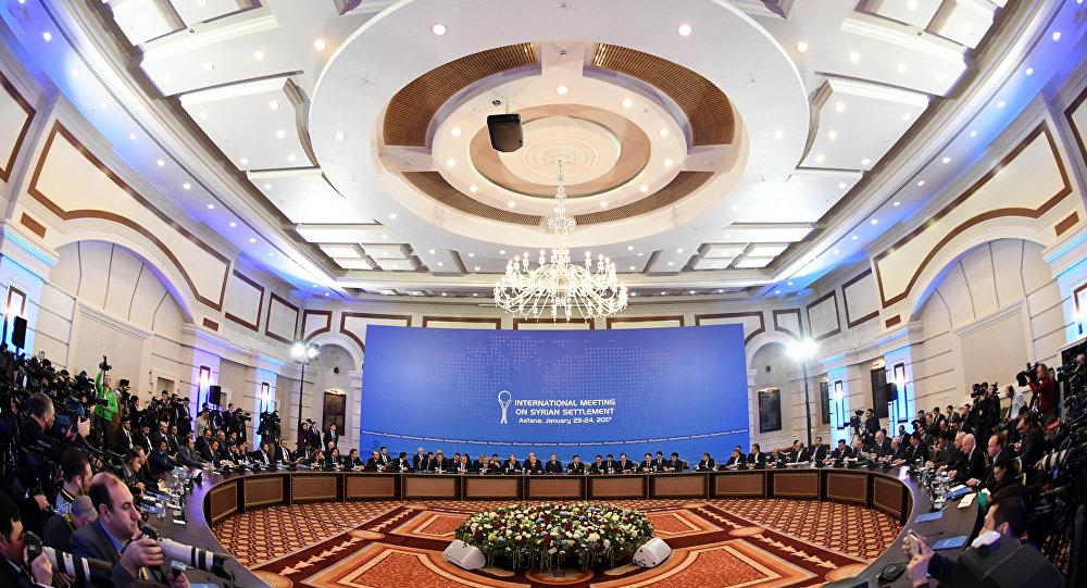 Négociations à Astana