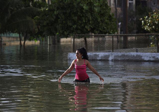 La capitale cubaine frappée par des inondations