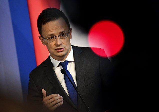 Péter Szijjártó, ministre hongrois des Affaires étrangères